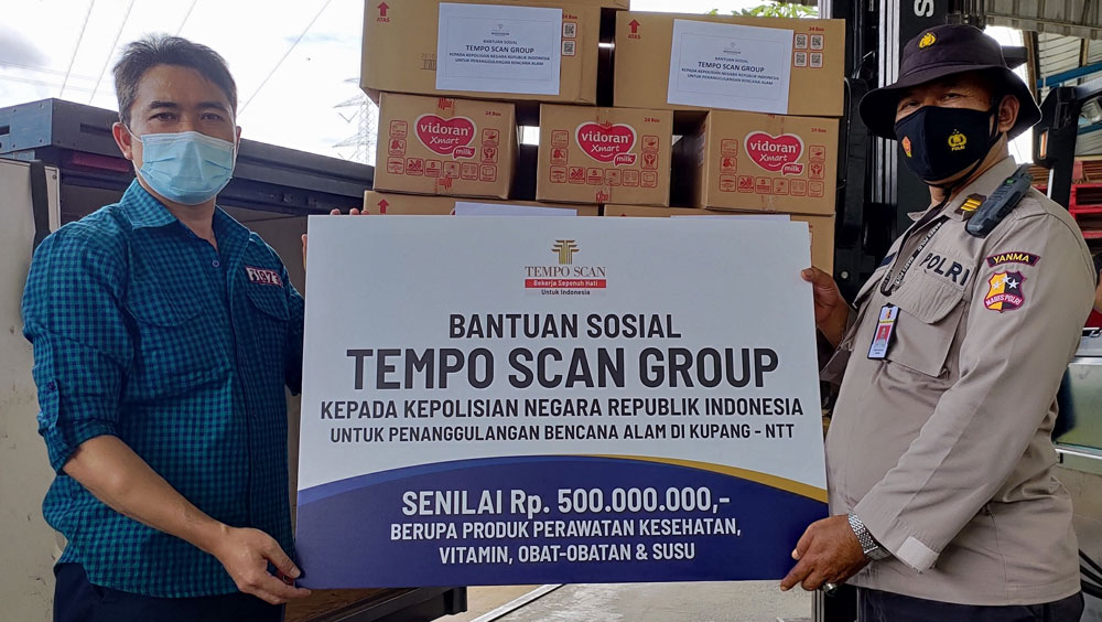 Wujud Nyata Peduli Kemanusiaan, Tempo Scan Donasikan Rp 500 Juta untuk Penanggulangan Bencana Alam di Kupang, NTT