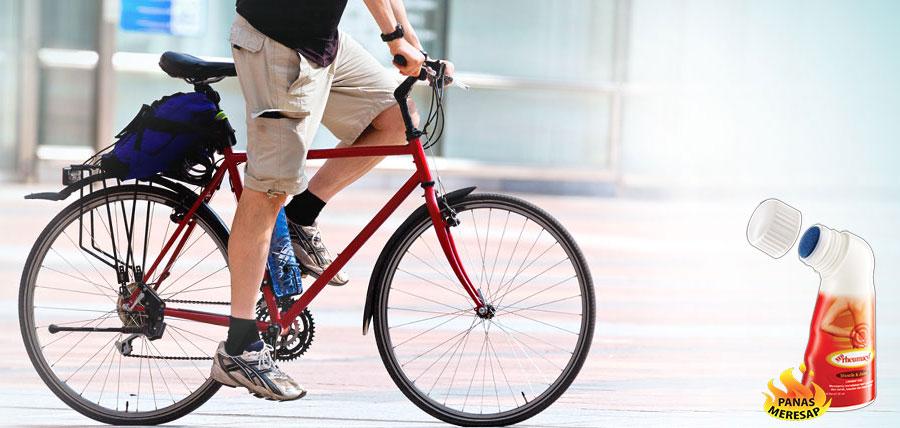 Jangan Sampai Bike to Work Berhenti Karena Nyeri