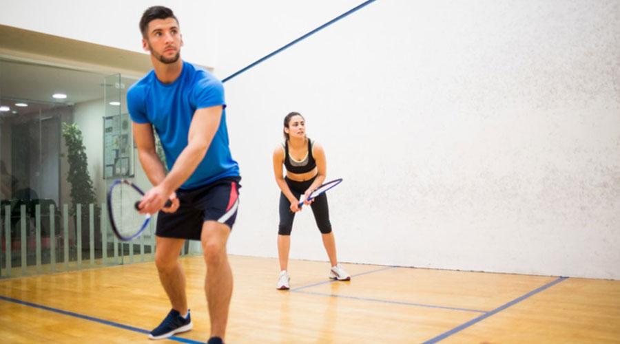 Serunya Mencoba Olahraga Squash