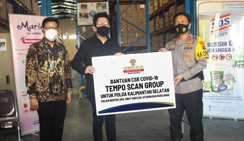 Tempo Scan Bantu Percepatan Penanganan COVID-19 di Kalimantan